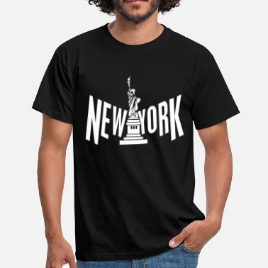 Liberty Island New York - Camiseta hombre