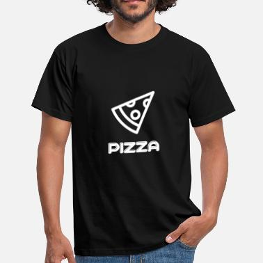 Pizza pizza - T-skjorte for menn