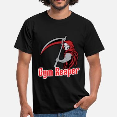 Reaper-wear Gym reaper fitness design - Men's T-Shirt