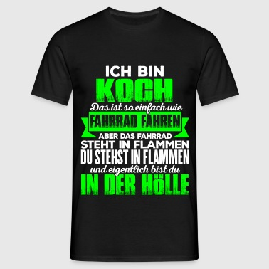 suchbegriff 39 lustige spr che koch 39 t shirts online. Black Bedroom Furniture Sets. Home Design Ideas