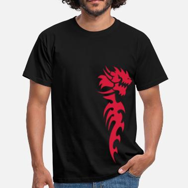 Tribal Dragon tribal dragon - Men's T-Shirt