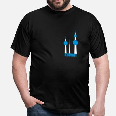 Tower Kuwait towers - Herre-T-shirt