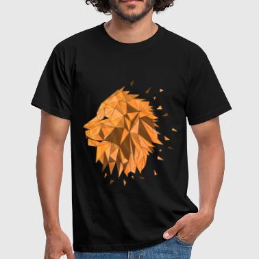 The Three Lions Lion - Men's T-Shirt
