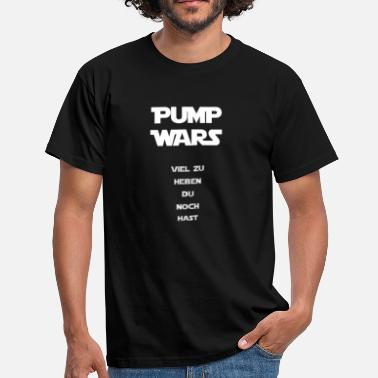 Jedi Sports Pump Wars Special white Edition - Men's T-Shirt