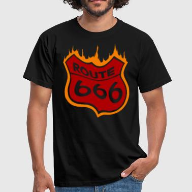 Route 666 - T-shirt Homme