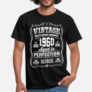 Vintage 1960 1960 Vintage 58th Birthday gift 58 years old - Men's T-Shirt