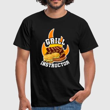 Grill Instructor Barbecue - Men's T-Shirt