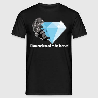 diamant - T-shirt herr