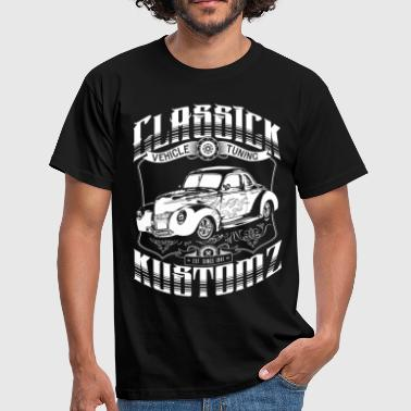Hot Rod - Classick Kustomz (white) - Men's T-Shirt