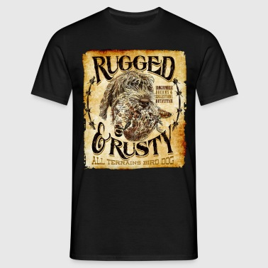 rugged and rusty - T-shirt Homme