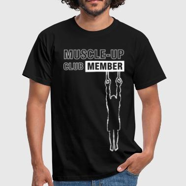 Cross White muscle-up club - Men's T-Shirt