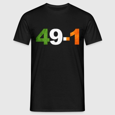 49-1 Ireland Boxing King - Men's T-Shirt