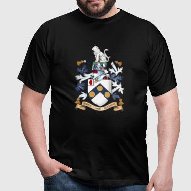 "James Bonds coat-of-arms ""The world is not enough - Men's T-Shirt"