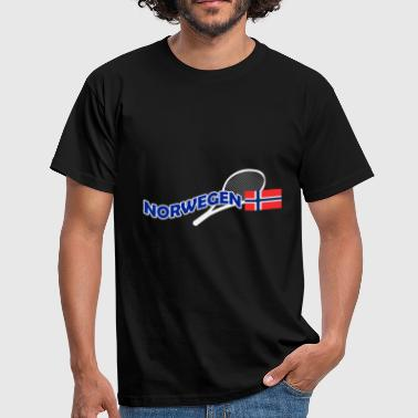 Norwegen Tennis Norwegen - Männer T-Shirt