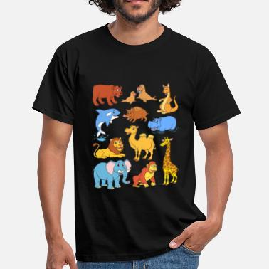 Animal Sauvage Animaux sauvages - T-shirt Homme