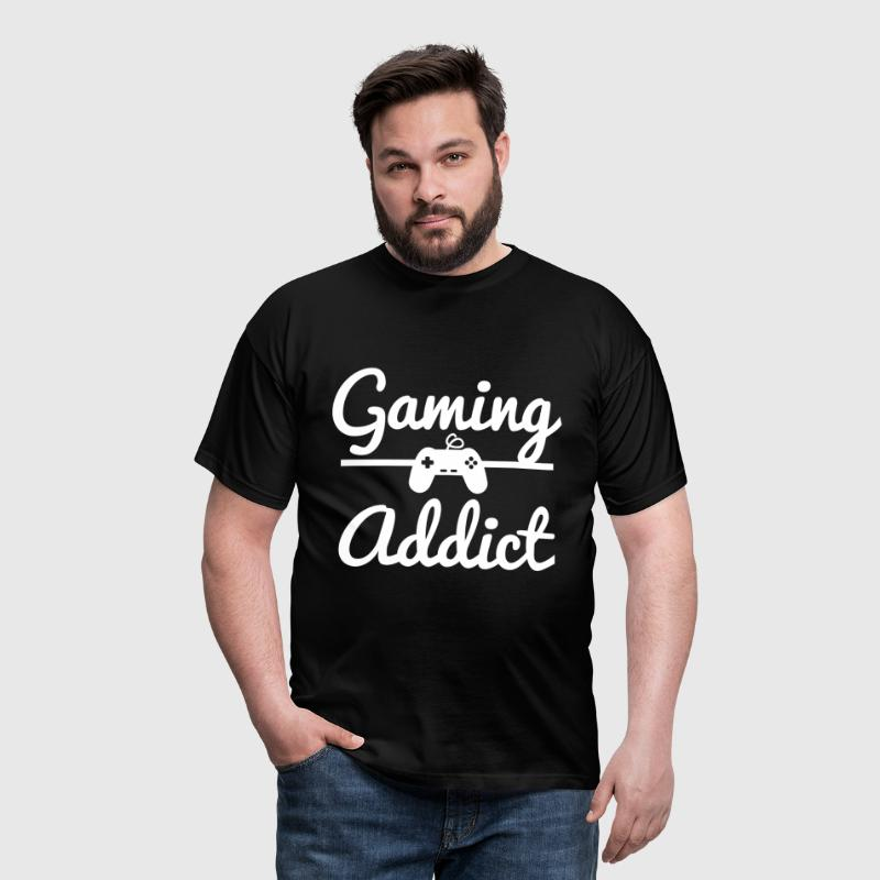 Gaming Addict, geek - T-shirt Homme