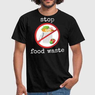 Waste Stop food waste - Men's T-Shirt
