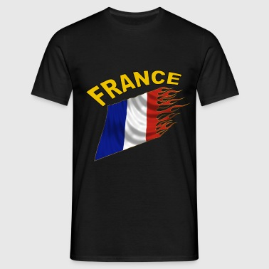 Drapeau France - T-shirt Homme