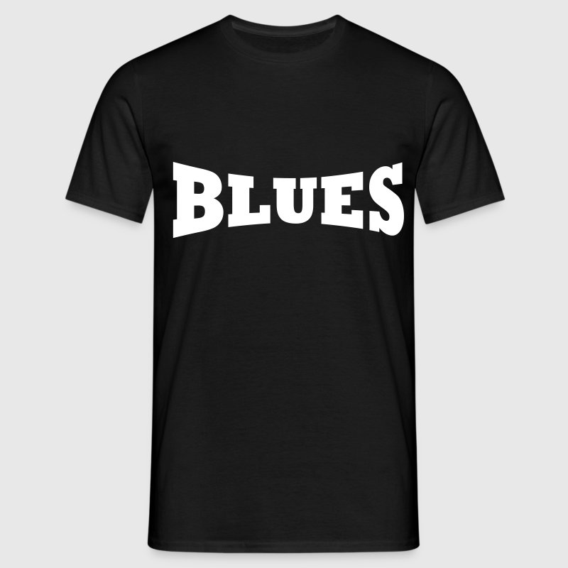 Logo Blues - T-shirt Homme