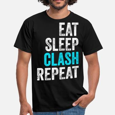 Clash Clash of Clans Funny gamer gave gamble - Herre-T-shirt