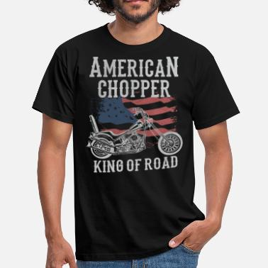 American Chopper American Chopper - King of Road - Camiseta hombre