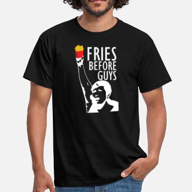 Friese Tekst Girl Power voor Fries - Mannen T-shirt