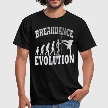 breakdance - Mannen T-shirt