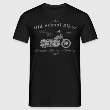 Old School Biker - Männer T-Shirt