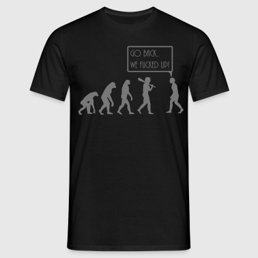 evolution - Herre-T-shirt