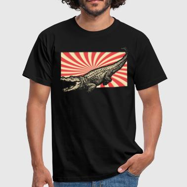 Crocodile Crocs - Men's T-Shirt