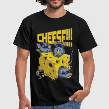 SAY CHEESE!! - Männer T-Shirt