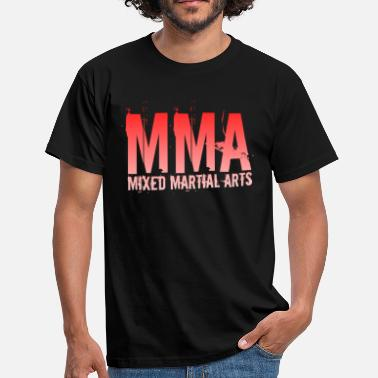 Målare MMA Fight Club Mixed Martial Arts Gift - T-shirt herr