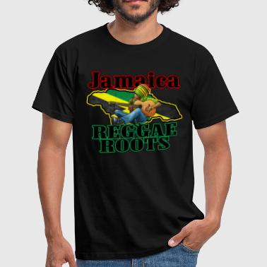 jamaica reggae roots - Men's T-Shirt