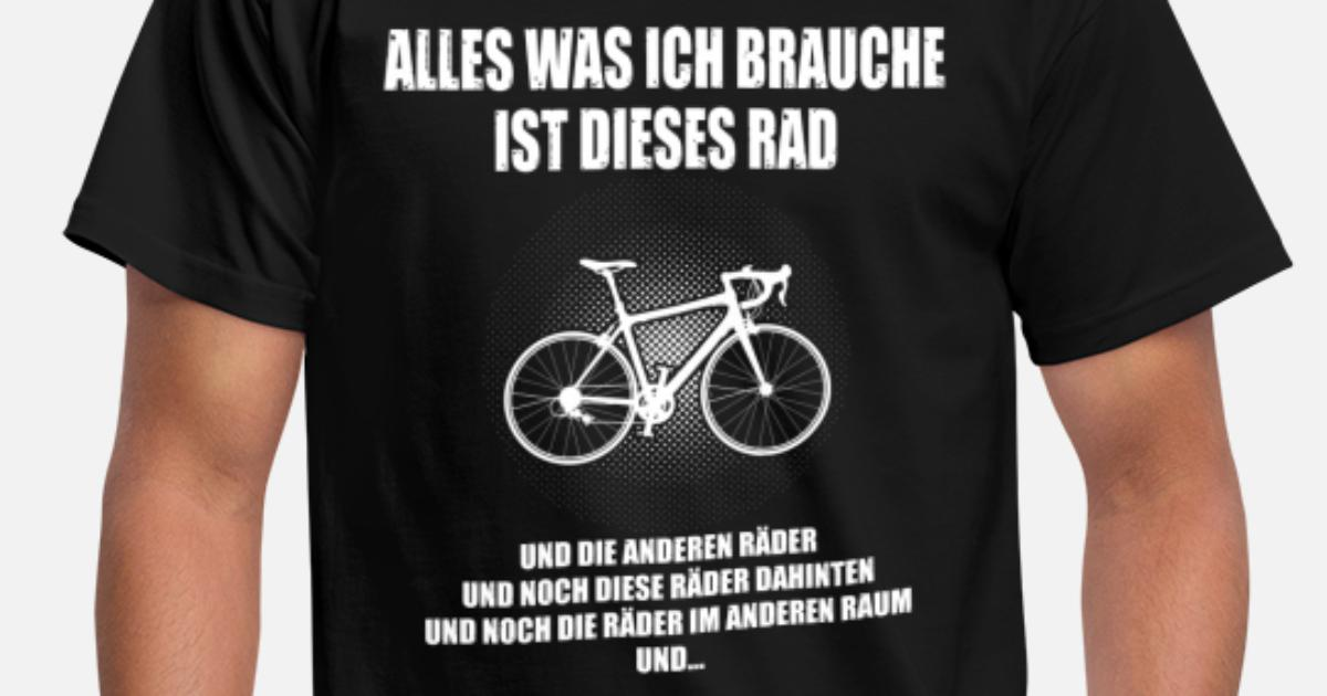 alles was ich brauche fahrrad m nner t shirt spreadshirt. Black Bedroom Furniture Sets. Home Design Ideas