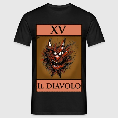 Tarot devil card - Men's T-Shirt