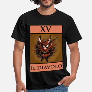 Diavolo Tarot devil card - Men's T-Shirt