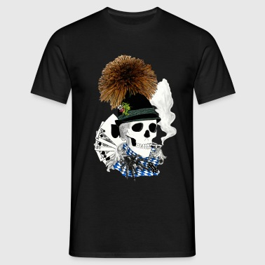 populaire -skull - T-shirt Homme