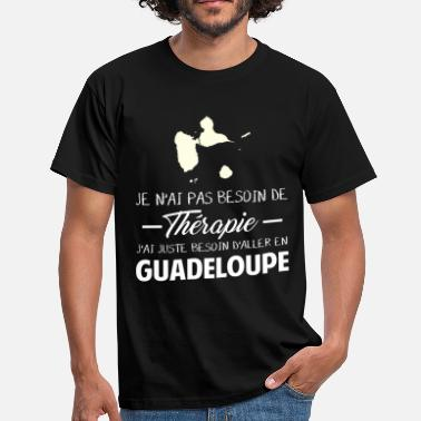 Guadeloupe Humour Thérapie Guadeloupe - T-shirt Homme