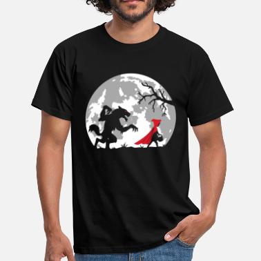 Chaperone the little red riding hood - Men's T-Shirt