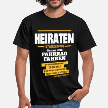 Bachelorette Party HEIRATEN - Männer T-Shirt