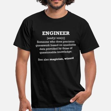 Technicien Ingenieur - Engineer - T-shirt Homme