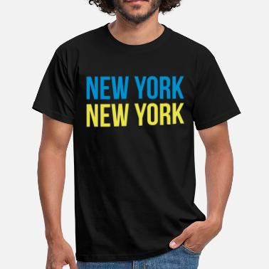 J Cole new york new york - T-skjorte for menn