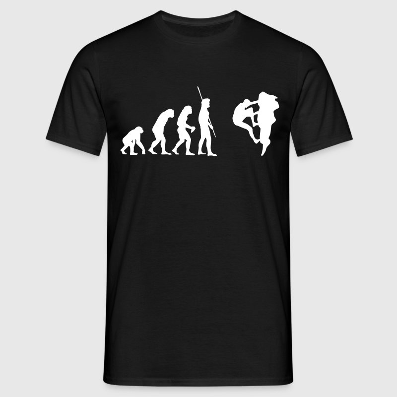 Evolution Klatring  - Herre-T-shirt