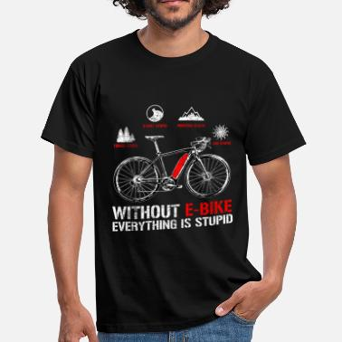 E-bike E bike - Men's T-Shirt