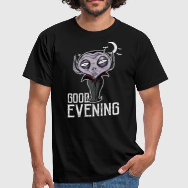 Good Evening Halloween - Good Evening Dracula - Men's T-Shirt