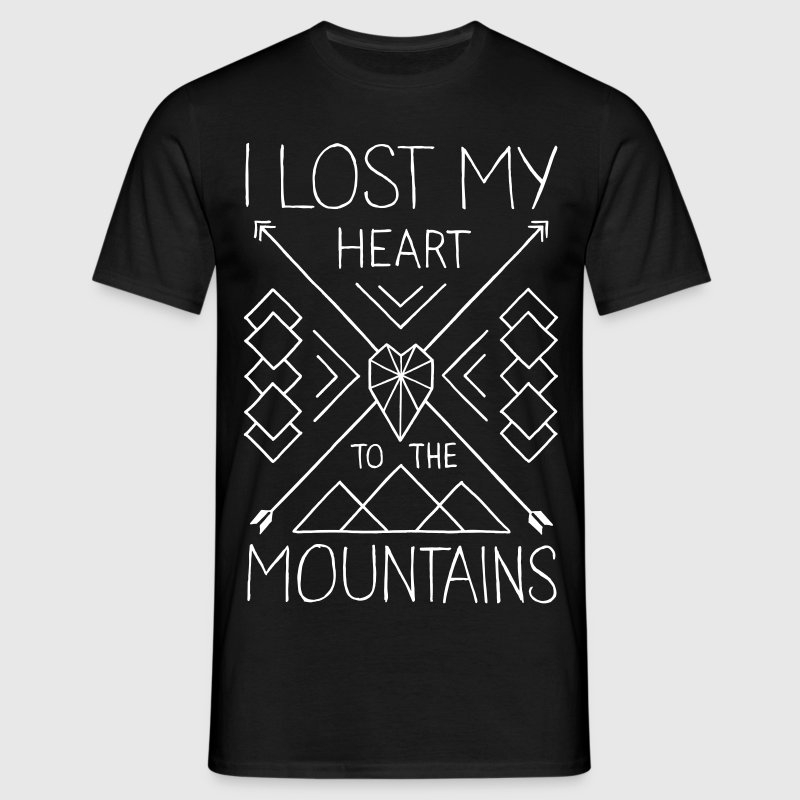 Mountain Love - Männer T-Shirt