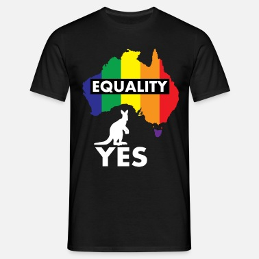 Yes Vote VOTE YES AUSTRALIA - Men's T-Shirt
