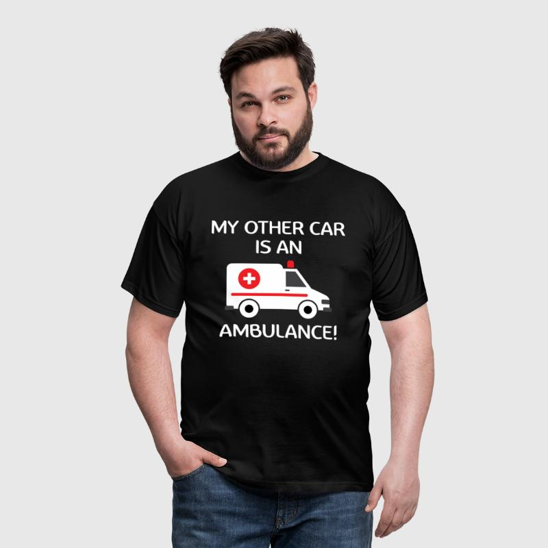 My Other Car Is An Ambulance! - Men's T-Shirt