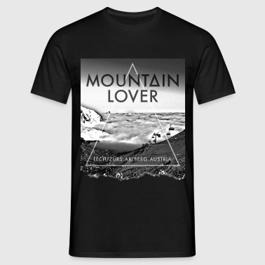 Mountain Lover - Arlberg - Männer T-Shirt