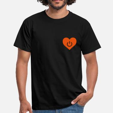 Relationship Couples Wedding Couple Married Engaged power of love v1 - Men's T-Shirt